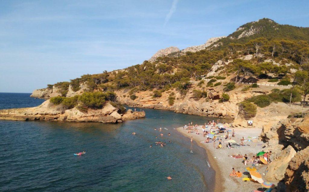 Playa del Illot en Alcudia
