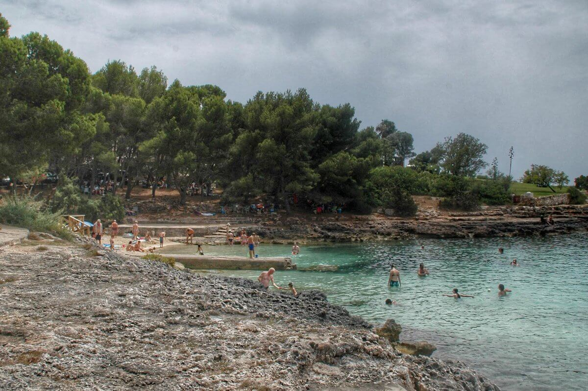 Playa S'Arenal Petit en Portocolom