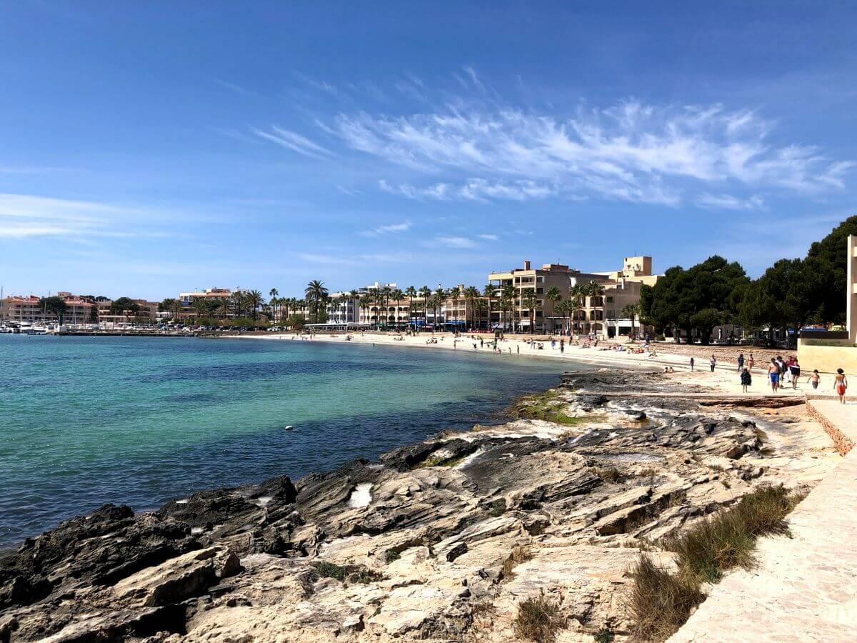 Playa del Port en Colonia de Sant Jordi: