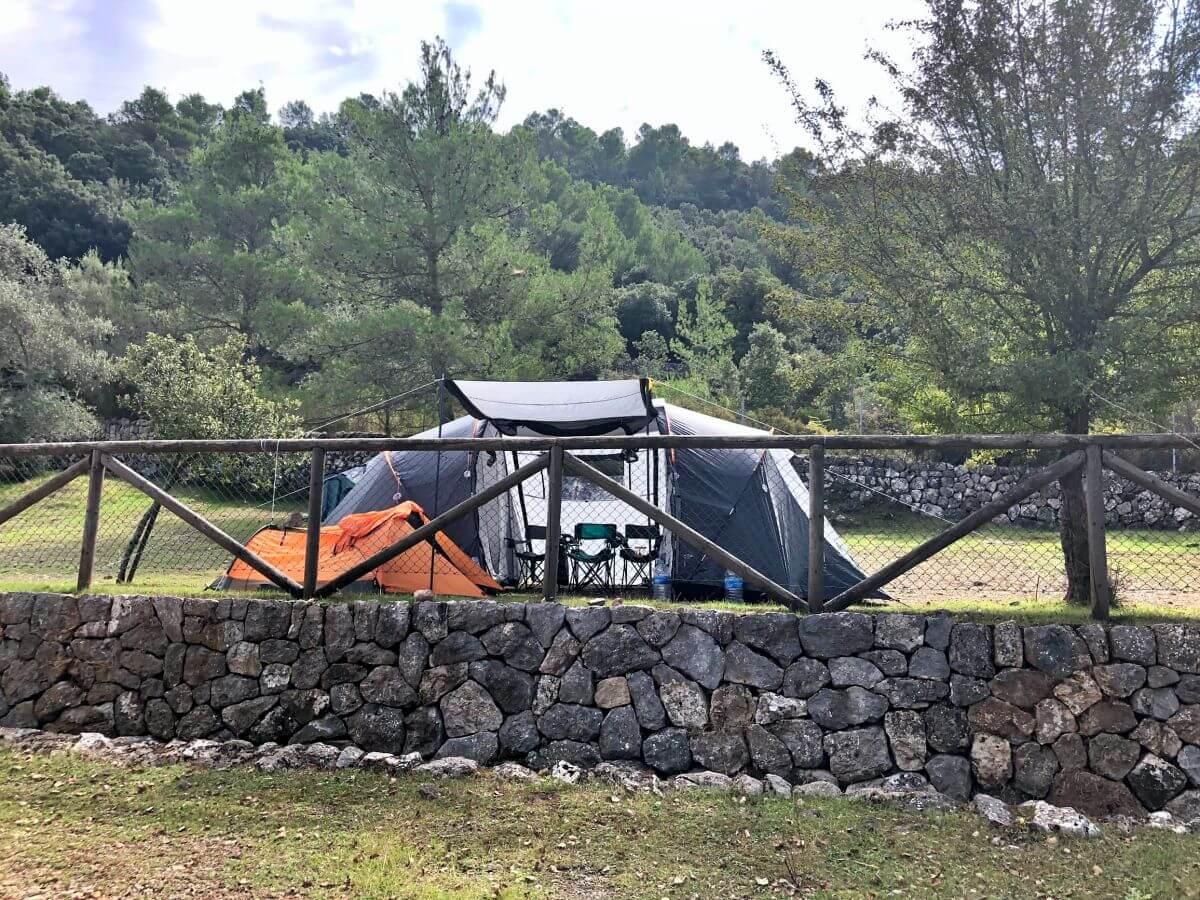 Zonas de acampada en Mallorca
