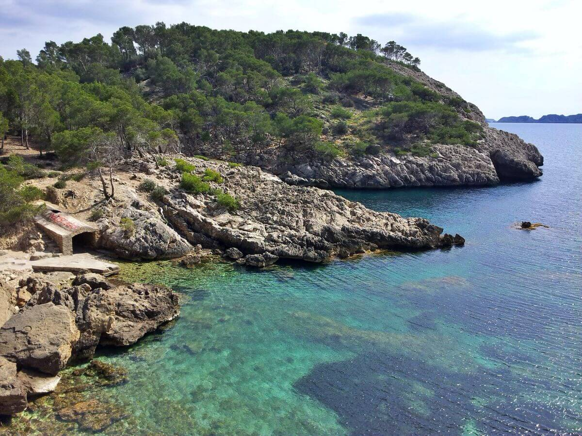Playa Caló des Monjo