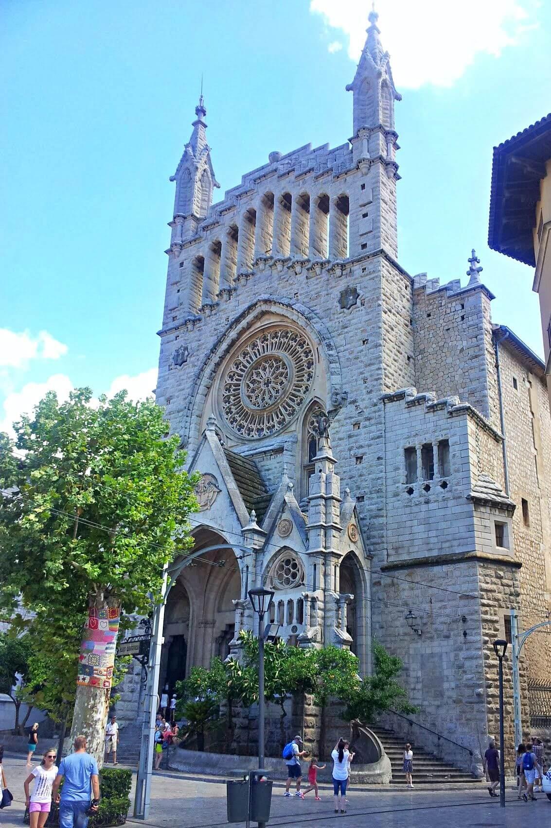 Iglesia Sant Bartolomé en Sóller