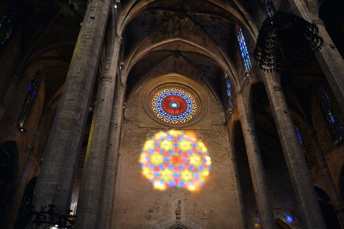 El ocho de la Catedral de Palma
