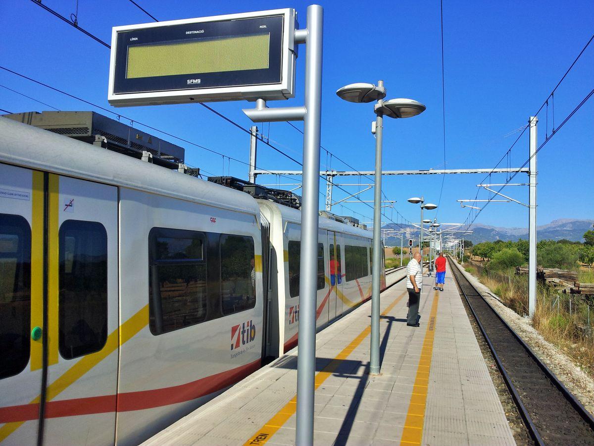 Estación en Llubí