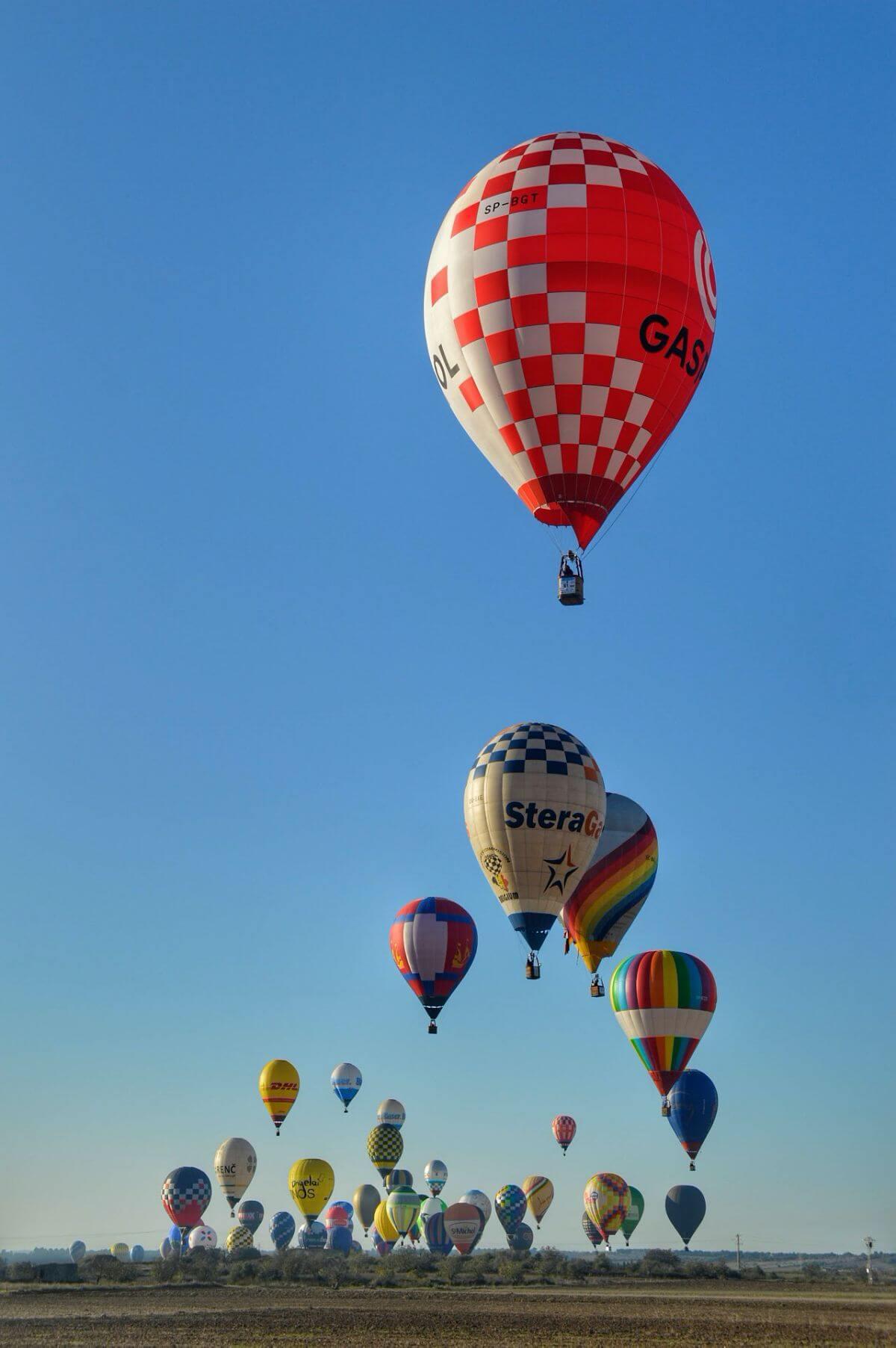 Campeonato europeo de globos aerostáticos en Mallorca