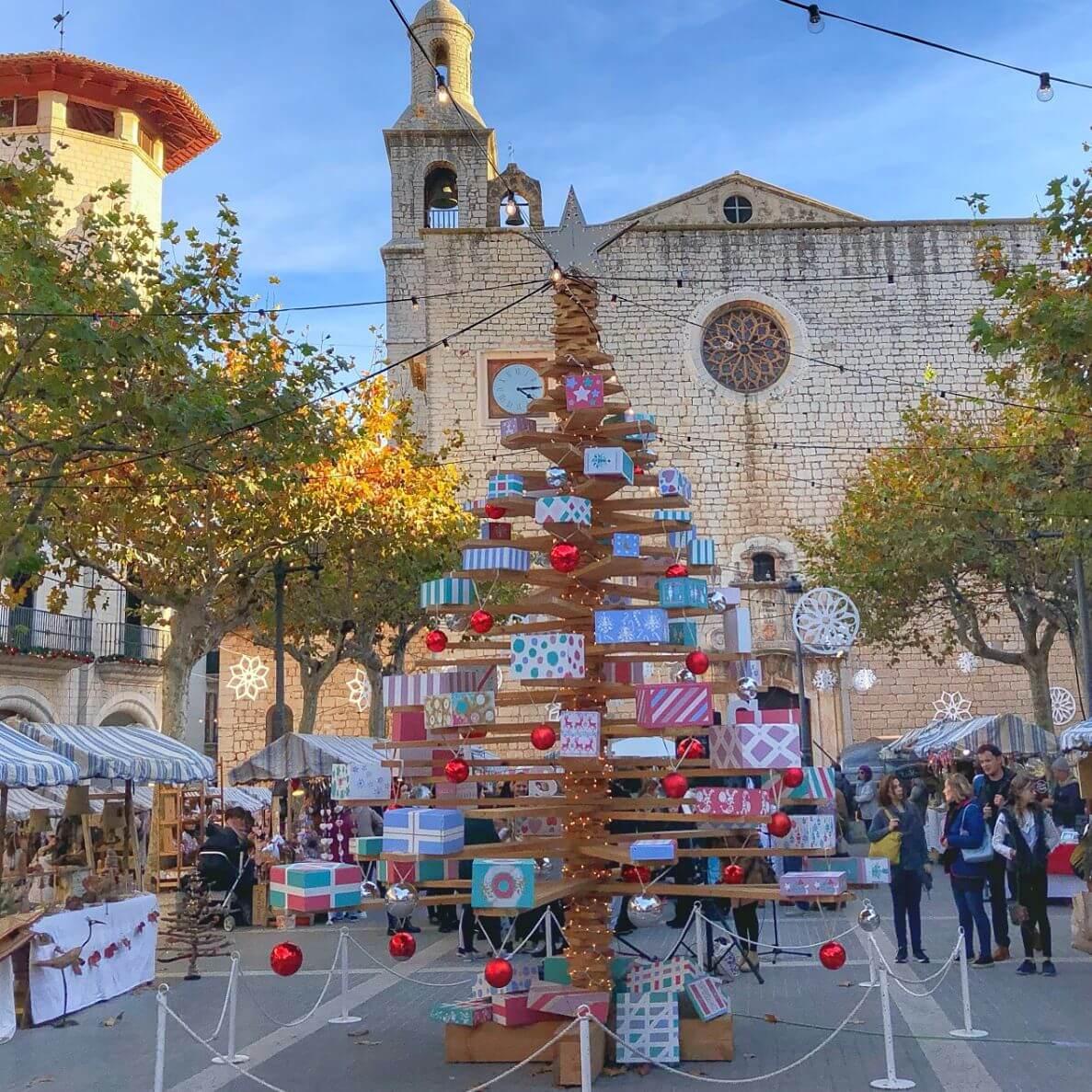 Mercado navideño de Alaró