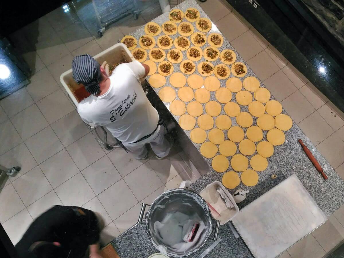 Pasteleros en Mallorca