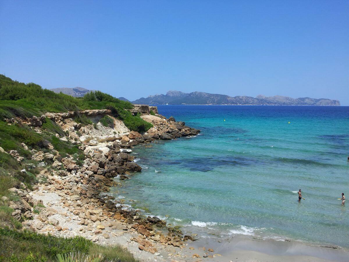 Playa de San Juan en Alcudia