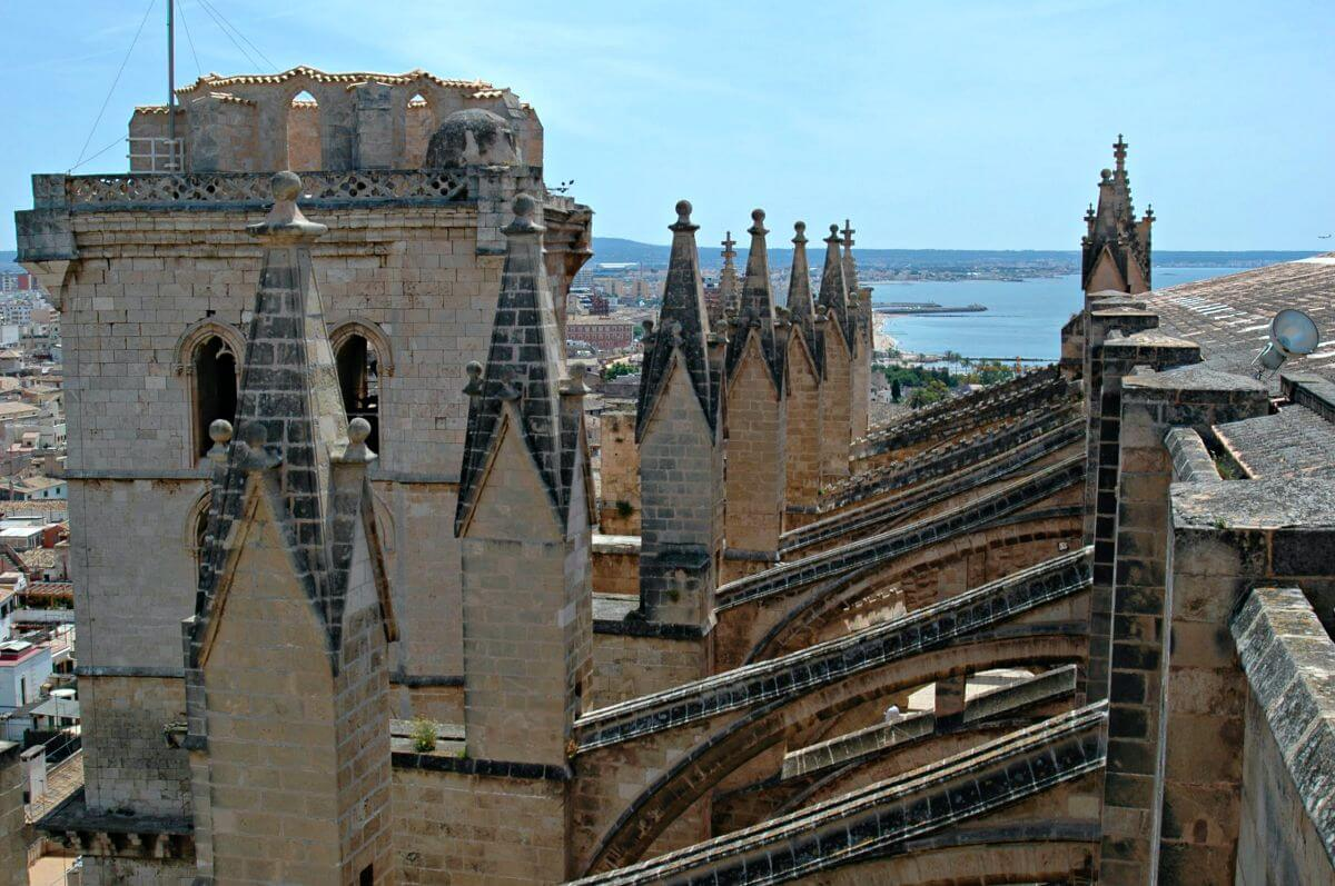 Visita a las terrazas de la Catedral de Palma