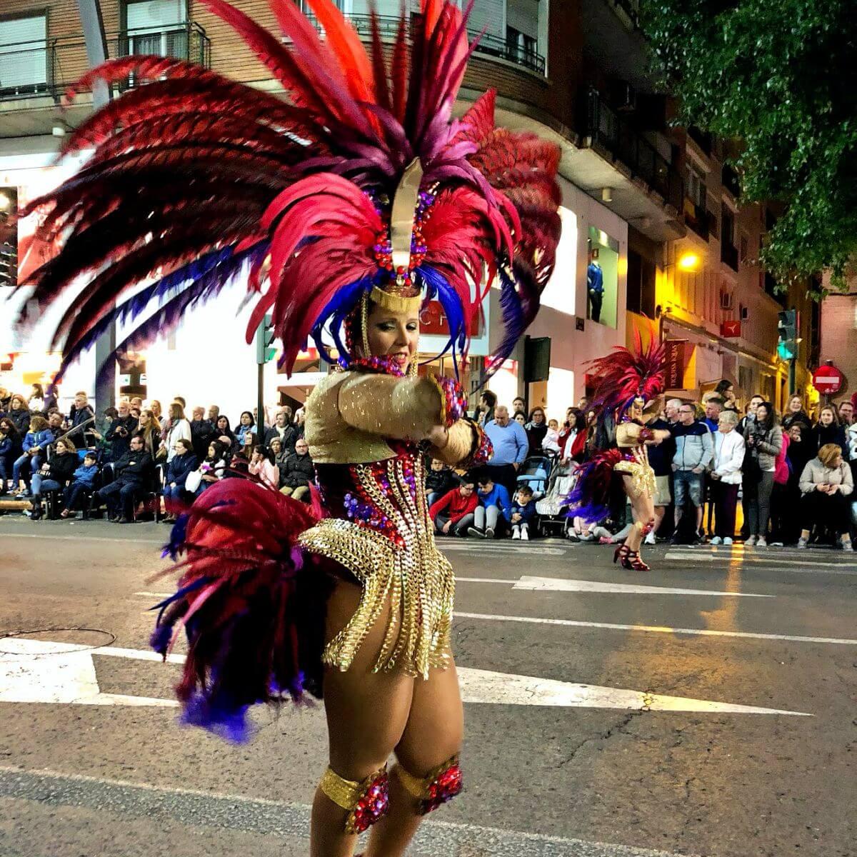 Testamento de la Sardina desfile