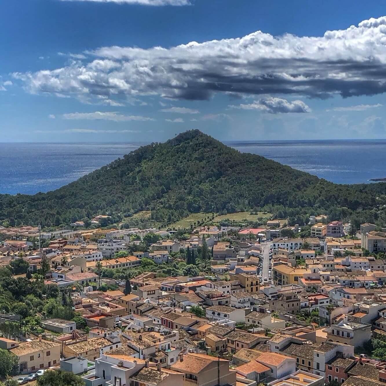 Vistas desde Castell de Capdera