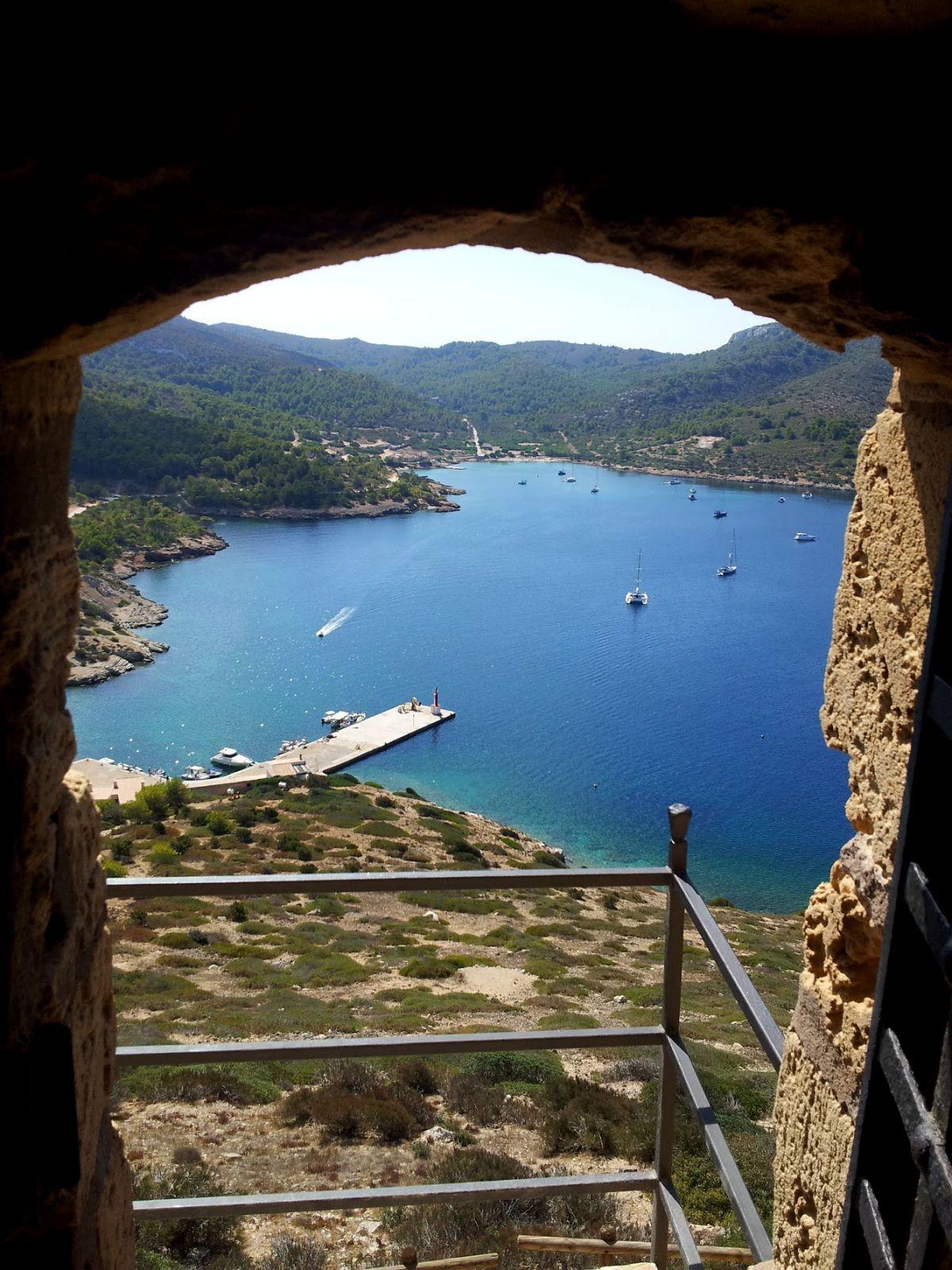 Vistas desde Castillo de Cabrera