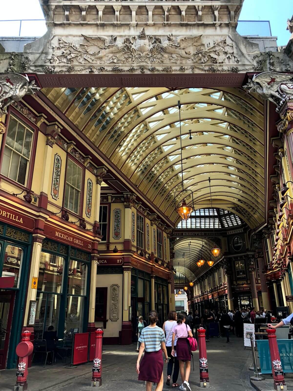 Leadenhall Market en Londres