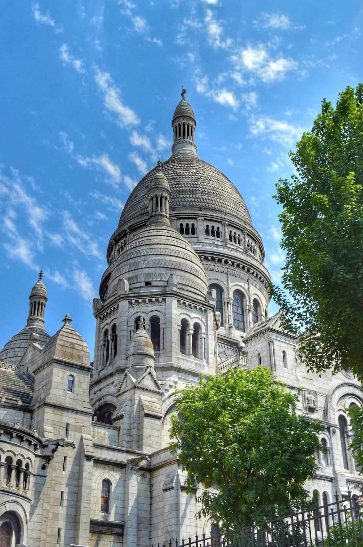 Sacré Coeur en París