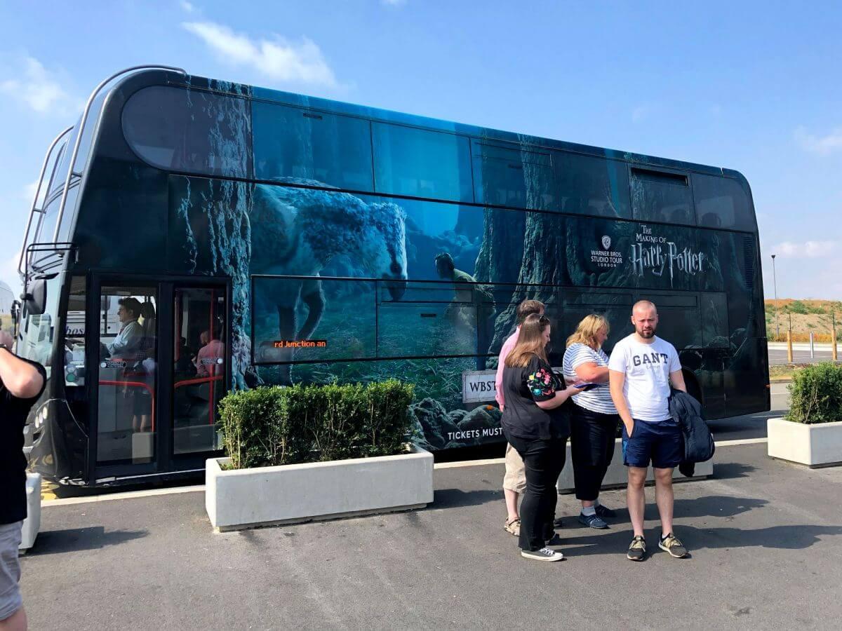 Bus Harry Potter Studio Tour