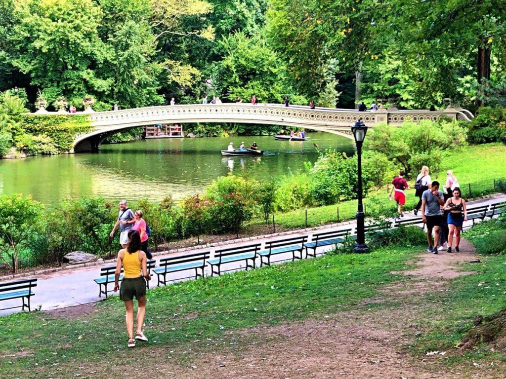 Central Park con niños en Nueva York