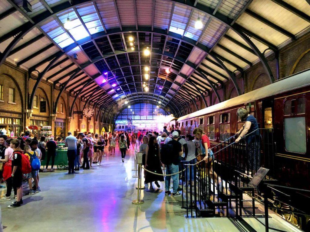 Estación Hogwarts Express en Harry Potter Studio Tour