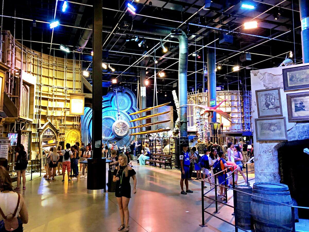 Interior Harry Potter Studio Tour