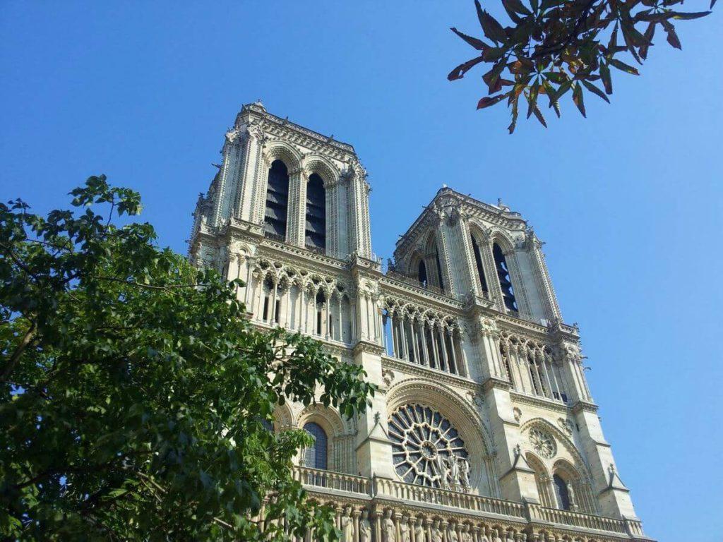 Notre Dame París antes del incendio