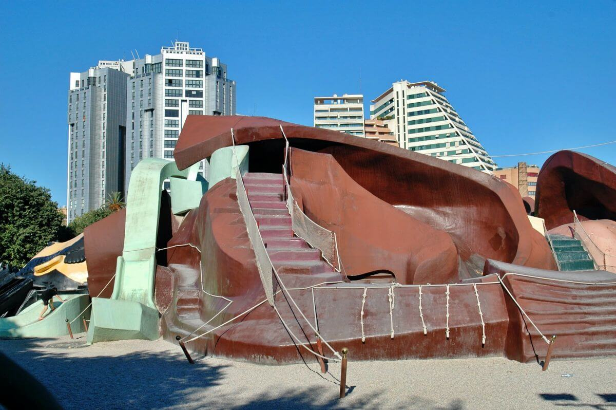 Parque Gulliver en Valencia