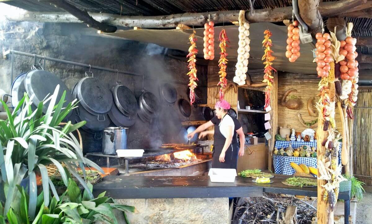 Restaurante en Sa Foradada