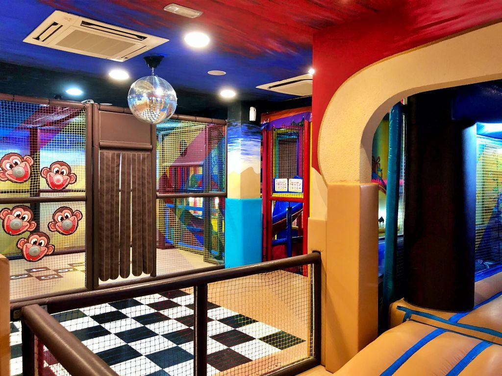 Zona de juegos Restaurante el Balcón de María