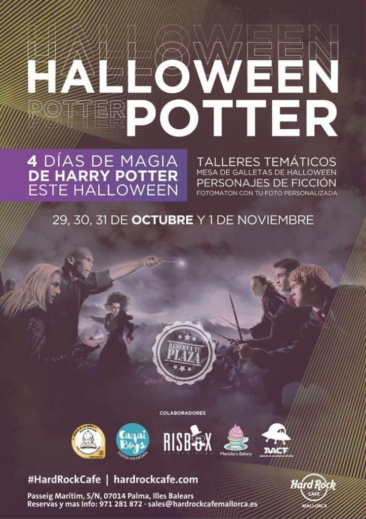 Halloween Potter en Hard Rock Café