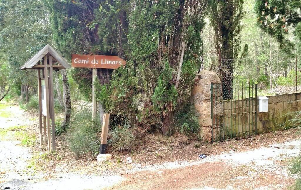 Inicio ruta Molins de Llinars