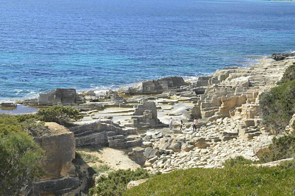 Antiguas canteras de Marès en Mallorca