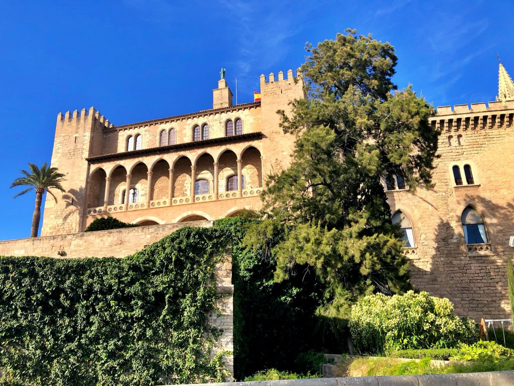 Castillo de la Almudaina en Palma