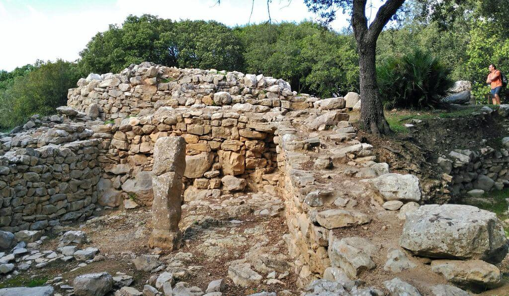 Interior Poblado talayótico de Ses Païses en Artà