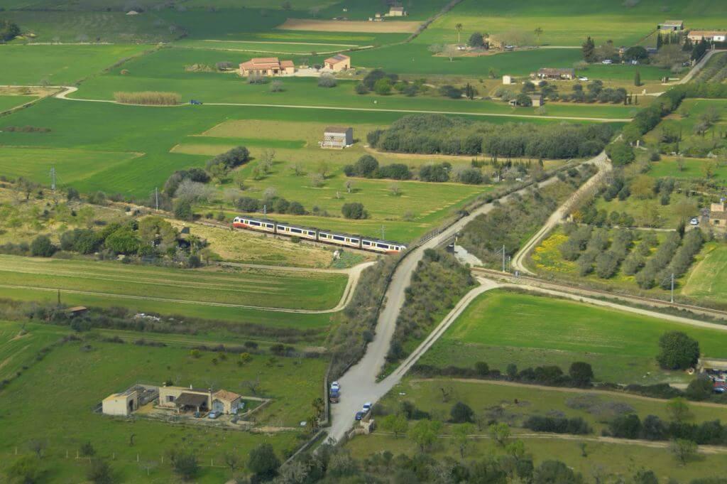 Tren desde Puig de Sant Nofre