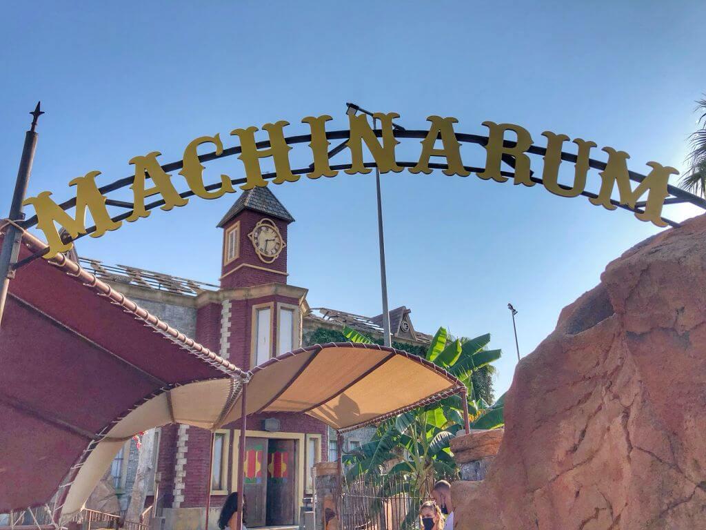 Machinarum, novedad 2021 en Katmandú Park