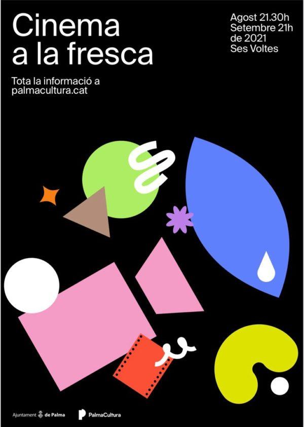 Cinema a la fresca Palma 2021