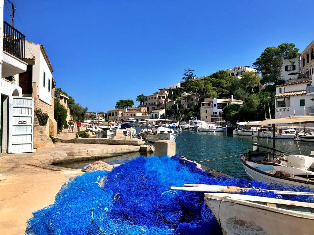 Puerto de Cala Figuera en Mallorca